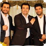 عکسهای جدید حدیث میرامینی,امیرمحمد زند و مجید خراطها در برنامه صبح خلیج فارس