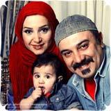 عکس های جدید برزو ارجمند در کنار همسر و فرزندش
