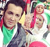 عکس های جدید بازیگران در بازی ایران و نیجریه جام جهانی برزیل ۲۰۱۴