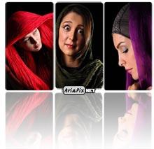 عکس های آتلیه ای بازیگران زن ایرانی (۱)