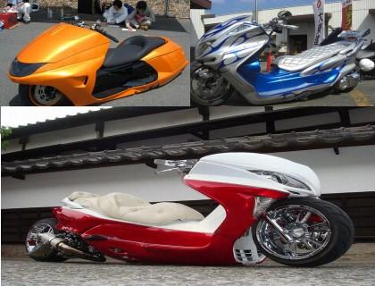 عکس های موتور سیکلت های پیشرفته ژاپنی | Www.AriaPix.Net