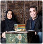 عکس های جدید سیامک انصاری و همسرش + گفتگو
