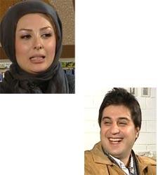 عکس های نیوشا ضیغمی و همسرش در برنامه خوشا شیراز