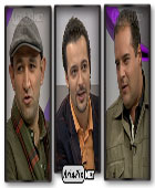 عکس های هدایت هاشمی و هومن برق نورد در برنامه سین مثل سریال
