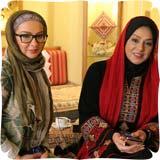 عکس جدید : نسرین مقانلو و لاله صبوری در برنامه صبح خلیج فارس