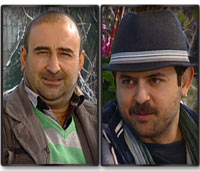 عکس های مهران احمدی و هومن سیدی در برنامه زنده رود