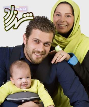 عکسهای پژمان بازعی همراه همسر و فرزندش | Www.AriaPix.Net