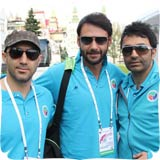 عکسهای جدید تیم ملی فوتبال هنرمندان در مسکو (۱)