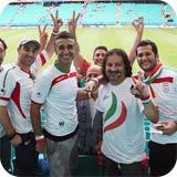 عکس های حضور بازیگران در بازی ایران و بوسنی (۲)