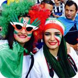 عکس های حواشی بازی ایران و آرژانتین در برزیل با حضور هنرمندان و بازیگران
