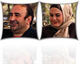 عکس های مهران احمدی و آزاده زارعی در برنامه زنده رود