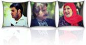 عزتالله مهرآوران,شهین تسلیمی و جواد عزتی در برنامه خوشا شیراز
