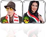 عکس های بازیگران حامی تیم ملی جام جهانی ۲۰۱۴ در پروژه یار دوازدهم (۲)