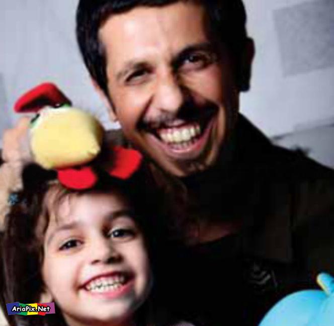 عکسهای جواد رضویان و دخترش | Www.AriaPix.Net
