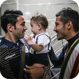عکسهای بازگشت تیم ملی فوتبال از جام جهانی برزیل به ایران