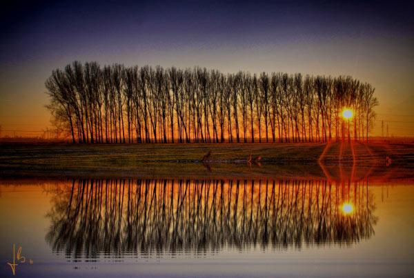 عکس های بازتاب نور در عکاسی