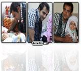 عکس های حامد کمیلی در عیادت کودکان سرطانی