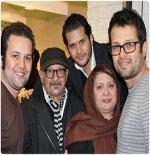 عکس های بازیگران ایرانی در سالی که گذشت !
