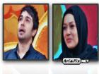 عکس های حسین مهری و پریناز ایزدیار در برنامه ویتامین ۳