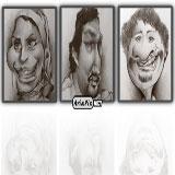 کاریکاتور جدید از بازیگران ایرانی