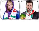 عکس های بازیگران حامی تیم ملی  فوتبال ایران در جام جهانی ۲۰۱۴ (۳)